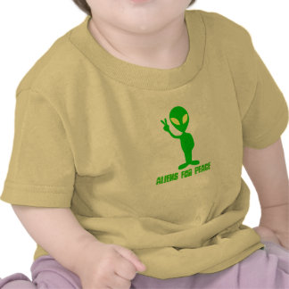 Aliens For Peace T Shirts