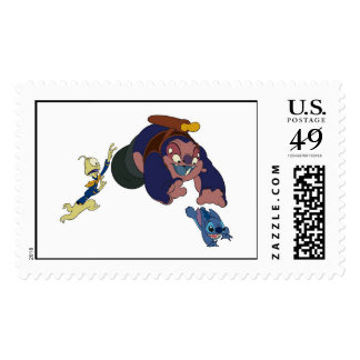 Aliens From Lilo and Stitch Postage Stamps