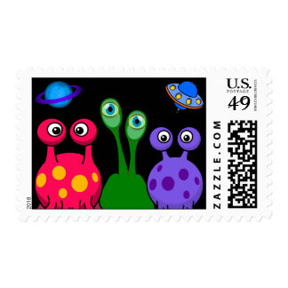 Aliens From Outer Space Postage