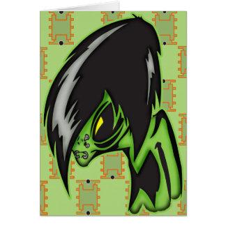 Aliens Gone Gothic Card