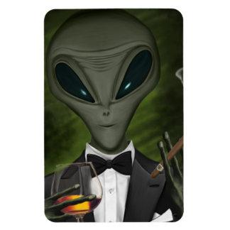 Aliens Got Class V1 Premium Flexi Magnet