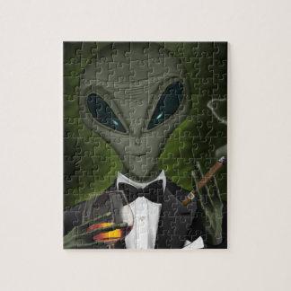 Aliens Got Class V1 Puzzle