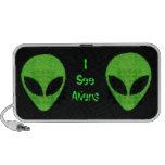 Aliens (green) Speaker