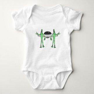 Aliens have Landed Baby Bodysuit