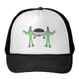 Aliens have Landed Trucker Hats