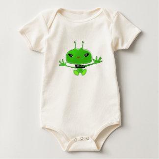 Aliens Huggs Baby Bodysuit