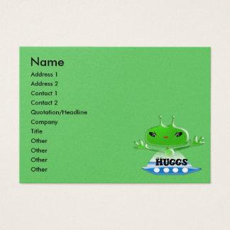 Aliens Huggs Business Card