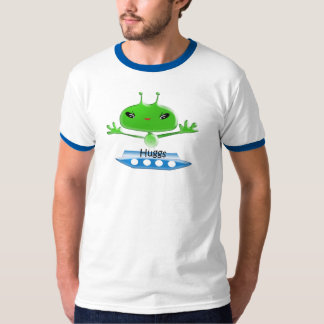 Aliens Huggs Gifts & Promotional Products T-shirts