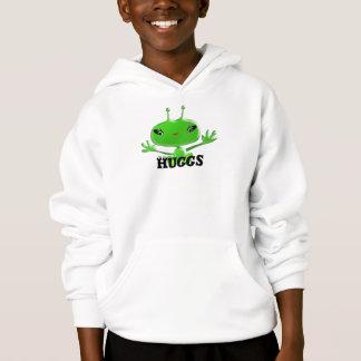 Aliens Huggs Hoodie