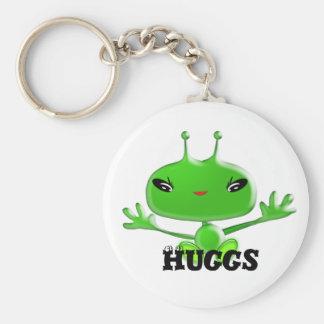 Aliens Huggs Keychain