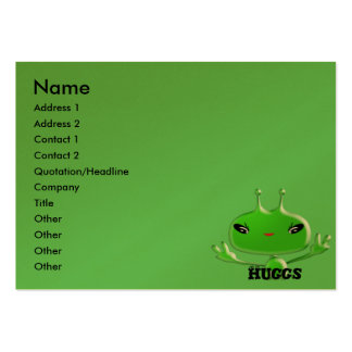 Aliens Huggs Large Business Card