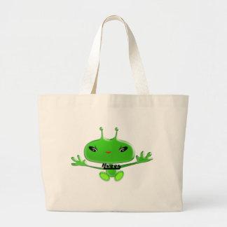 Aliens Huggs Large Tote Bag