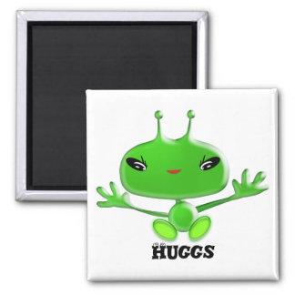 Aliens Huggs Magnet