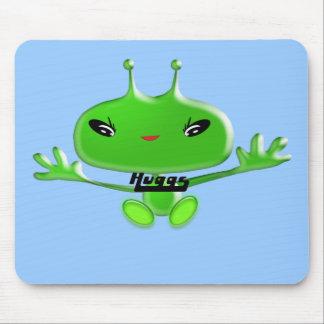 Aliens Huggs Mouse Pad