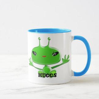 Aliens Huggs Mug