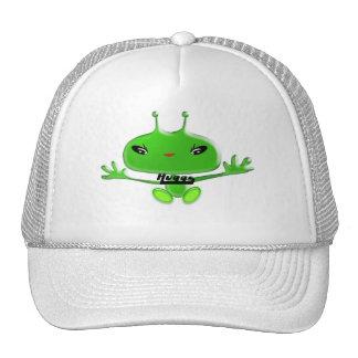 Aliens Huggs Trucker Hat