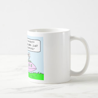 aliens illegal racial profiling saucer coffee mug