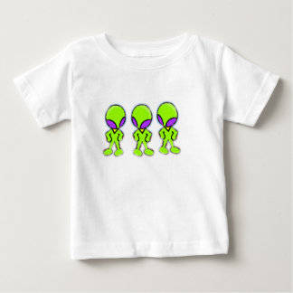 Aliens Little Green Men Baby T-Shirt