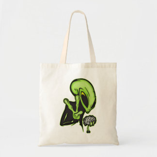 Aliens Love Brain Food Tote Bag