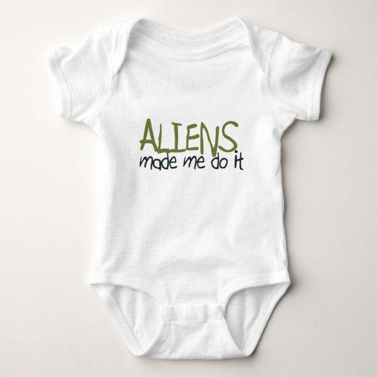 Aliens Made Me Do It T-Shirt