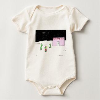 aliens methane oxygen bar moon baby bodysuit