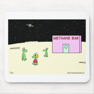 aliens methane oxygen bar moon mouse pad