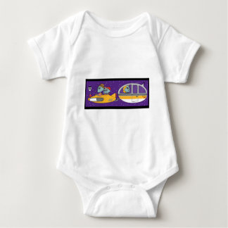 Aliens On Vacation Infant Creeper