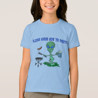 Aliens Party T-Shirt