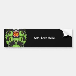 Aliens Probing Your Body Car Bumper Sticker