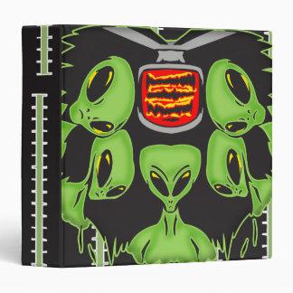 Aliens Probing Your Body Vinyl Binders