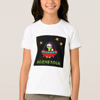 aLiEnS ROCKin' in a Merry Christmas! T-Shirt
