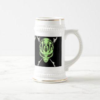 Aliens Rule Beer Stein