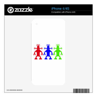 Aliens Skins For iPhone 4