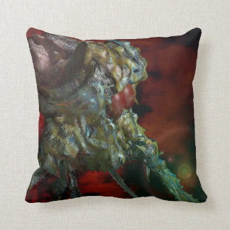 aliens, they are here throw pillow
