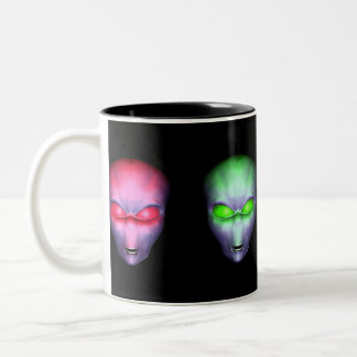Aliens Two-Tone Coffee Mug