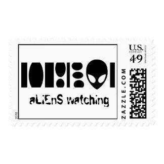 aLiEnS WATCHING! Postage