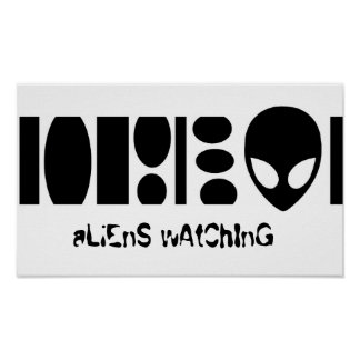 aLiEnS wAtChInG! Poster
