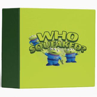 Aliens: Who Squeaked Binder