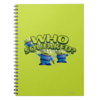 Aliens: Who Squeaked Notebook