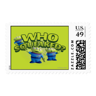 Aliens: Who Squeaked Stamp