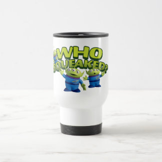 Aliens: Who Squeaked Travel Mug