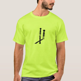 Aliens X files T-Shirt
