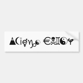 AliensExist Bumper Sticker