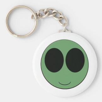 aliensmiley llavero
