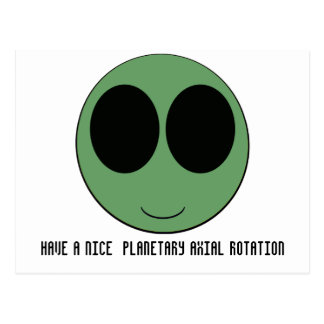 aliensmiley postales