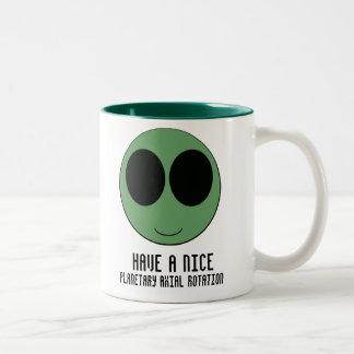 aliensmiley taza de café
