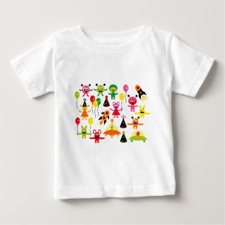 AliensParty1 Baby T-Shirt