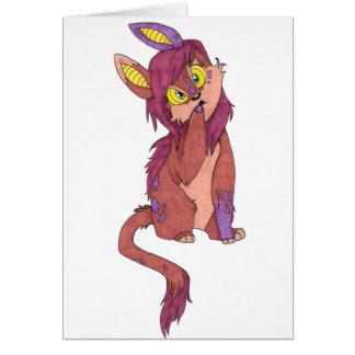 Alig Critter Card