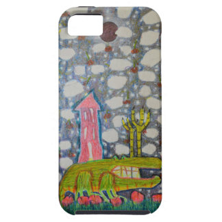 Aligator With Six Legs iPhone 5 Cover