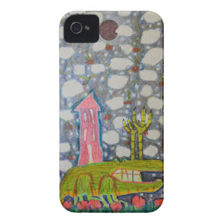 Aligator With Six Legs iPhone 4 Covers